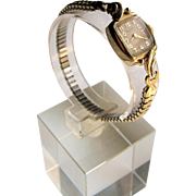 Hamilton 14K Yellow Gold Ladies Dress Watch- 750.