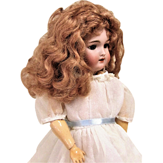 Handwerck Antique German Mohair Wig For Bisque Head Doll.