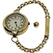 Waltham Ladies Gold Plated Wrist Watch- Model 1912