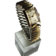 Wittnauer Art Deco Gentlemens Swiss 10k Gold Filled Wrist Watch- Revue 73. - Red Tag Sale Item
