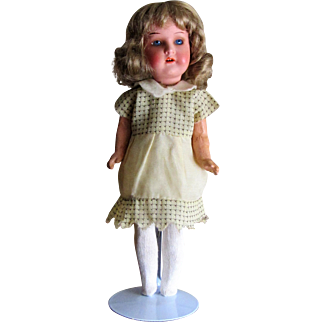 Heubach koppelsdorf 10'' High Bisque Head Doll - Germany.