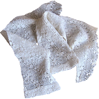 Hand Made Crocheted Lace Bridal Wedding Dress Sleeves.