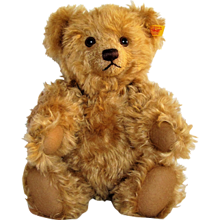Adorable 14'' German Steiff Growler Teddy Bear. 004421