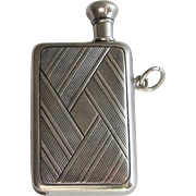 Sterling Silver Book Shape Striker Lighter Chatelaine - Red Tag Sale Item