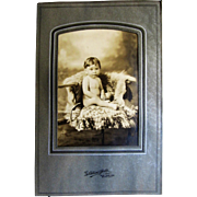 Photograph- Beautiful Nude Baby Boy From The Bronx, N.Y.-1900