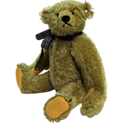 Steiff Margaret Woodbury Strong Museum Mohair Teddy Bear.  9''