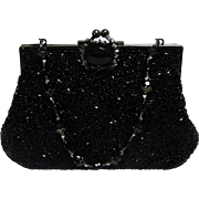 Todd Anthony New York Beaded and Sequin Evening Bag.