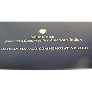 2001 D American Buffalo Uncirculated Silver Dollar Commemorative Coin
