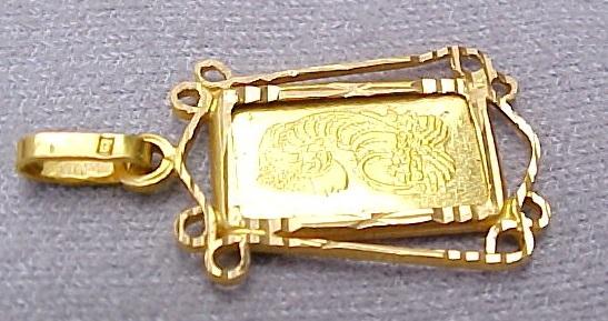 credit suisse fine gold essayeur fondeur