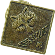 Vintage Cub Scout Placement Pin