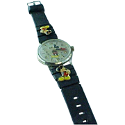 "Vintage ""50"" Happy Years Walt Disney, Mickey Mouse Limited Edition Commemorative Watch"