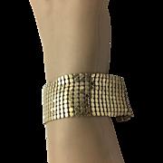 Sterling Silver/ Vermeil Mesh Bracelet