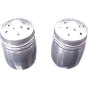 Sterling Silver Mini Salt and Pepper shakers