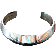 Mexico Sterling Silver 15 mm Width Cuff