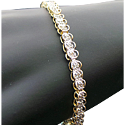 10K Yellow Gold .50 Carat Diamond Tennis Bracelet