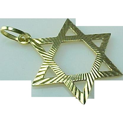 Vintage Star Of David 95