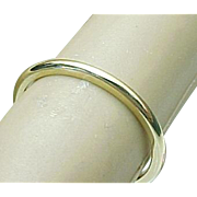 sOLD OUT OF STORE 14K Yellow Gold 1.5 mm Jabel Band