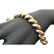 14K Yellow Gold San Marco 9 mm Link Bracelet