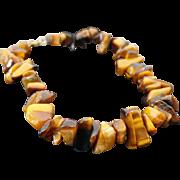 Hand Made Tigers Eye Bracelet