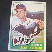 Vintage 1965 Topps Baseball Card Joe Torre