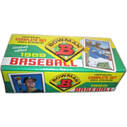 Unopened Box of 1989 Bowman Baseball Cards