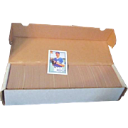 Set of 1991 Topps Baseball Cards 670 Cards