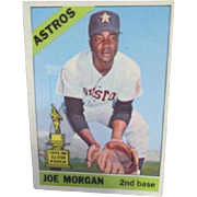 Joe Morgan 1966 Baseball Card