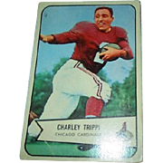 1954 Bowman Football Card #60 Charles Trippi