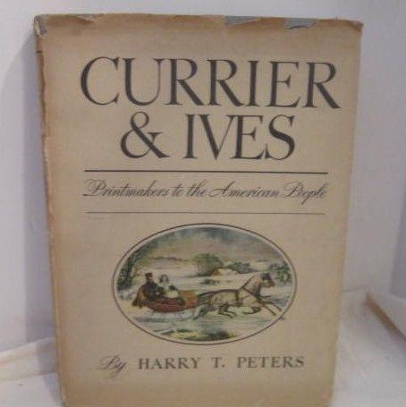 Vintage Currier & Ives Book 1942