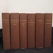 Antique Set of 6 Classic Books