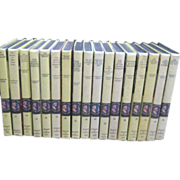 20 Volumes of Nancy Drew Mysteries