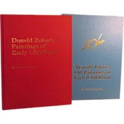 2 Volume Set of Donald Zolan's Paintings of Early Childhood