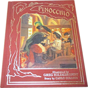 1986 Edition of The Adventures of Pinocchio Illustrated by Greg Hildebrandt