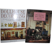 Two Books on Decorating Dollhouses
