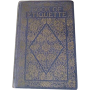 Book of Etiquette by Lillian Eichler Vol I 1921