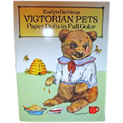 Victorian Pets Paper Dolls in Full Color