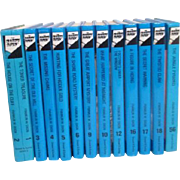 Hardy Boys Set of 13 Mysteries by Franklin Dixon