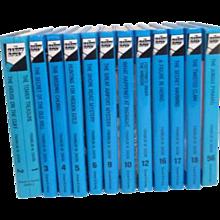 Hardy Boys Set of 13 Mysteries by Franklin Dixon