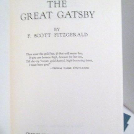 the importance of setting in the great gatsby by f scott fitzgerald F scott fitzgerald's the great gatsby  in a dreamlike setting,  of little practical or significant importance and when they do speak of what they.