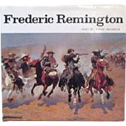 Frederic Remington Paintings, Drawings and Sculpture