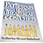 Patterns for Theatrical Costumes Ancient Egypt-1915 by Katherine Holkeboer