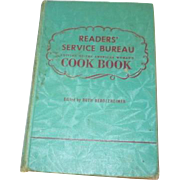 Reader's Service Bureau Cook Book 1941