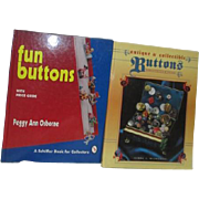 Fun Buttons with Price Guide by Peggy Ann Osborne