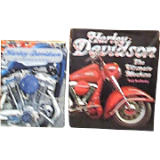 Two Harley-Davidson Books