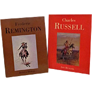 Two Western Art Books Charles Russel Frederic Remington