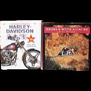 2 Harley Davidson Books