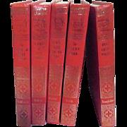 Set of 5 World's Greatest Literature