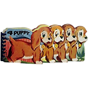 4 Puppy Book 1956 Harvey House