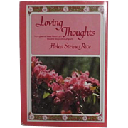 Loving Thoughts Poems by Helen Steiner Rice