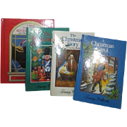 Set of 4 Children's Christmas Books 3 Pop-ups